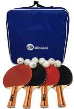 Ping Pong Paddle - 4 Pack Pro Premium Juego De Raqueta De Tenis De Mesa, 8 Prof