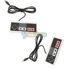 2X Classic PC USB Controller Gamepad For Retro Nintendo NES Windows Mac