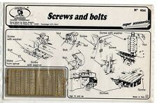 ROYAL MODEL 034 SCREWS AND BOLTS PHOTOETCHED 1/35 NUOVA