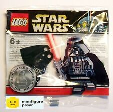 Lego Star Wars 4547551 - Chrome Darth Vader Minifigure w Lightsaber Polybag MISB
