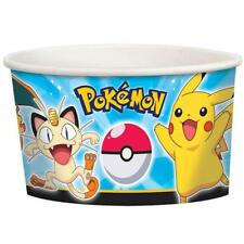 Pokemon Pikachu and Friends Ice Cream Snack Paper Cups Birthday Party Supplies