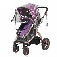 Baby Stroller Cover Transparent Waterproof Umbrella Stroller Wind Shield Cover