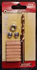 Milescraft 5337 1/4-inch Dowel Kit