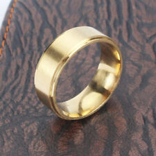 Band Black Wedding Party Ring 7-12 Fashion Women Man Titanium Finger Ring