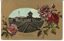 EAST MAITLAND RAILWAY STATION NSW POSTCARD