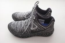 Nike Womens Lunarepic Low Flyknit 2 Running Shoes Black White Sz 7 (863780-041)