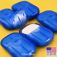 100 Super Paper Soap Sheets Portable Travel Hand Washing Soluble Eco 5-Pack BLUE