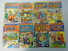 Bronze age Archie comic lot 20 different 50 c covers avg 4.0 VG