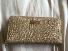 DKNY Moc Croc Housekeepers Purse Good Condition