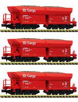 "Fleischmann N 852703-S Selbstentladewagen ""Fals 151"" der DB AG (3 Stück) NEU+OVP"
