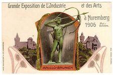 POSTCARD GERMAN 1906 NUREMBERG INDUSTRY & ARTS EXPOSITION (FRENCH )
