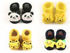 x4 Newborn 12M Baby Boy Unisex Cartoon Socks Sock Warmer Cute Babyshower Gift