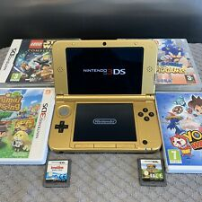 RARE - Gold Nintendo 3DS XL - Zelda Console - EXCELLENT Condition & Games