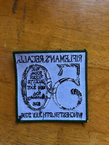 RGJ 50th Anniversary patches  heat sealed CLOSING DOWN SALE