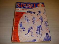 SPORT MONDIAL 022 12.1957 BILAN 57 BOXE HALIMI FOOT KOPA VELO GAUL BAHAMONTES