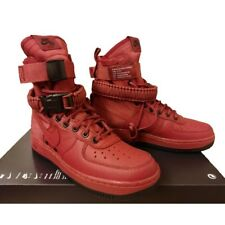 cheap for discount 43a1c 9c5a0  180 NEW WOMEN S SIZE 6 NIKE SPECIAL FIELD AIR FORCE 1 SHOE CEDAR RED BLACK  HI