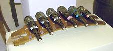 Portabottiglie fatto a mano con antiche doghe di botte di rovere. Pezzo unico