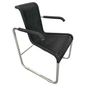Jean Prouvé D20 Wicker Chair for Tecta Germany 1980s