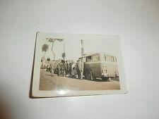 photo ancienne car d'excursion 1950 autocar NANCY-VERDUN 9 x 6,5 cm