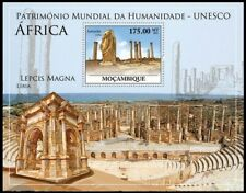 Mozambique 2010 MNH MS, UNESCO, Archaeological Site of Volubilis in Libya