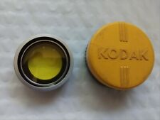 "Kodak Series V 5 Adapter 15/16""- 23.5mm Ring Holder Drop In Lens Filter yellow"