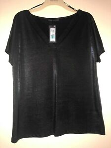 BRAND NEW SPARKLE TOP FROM MARKS AND SPENCERS SIZE 14 IN EXCELLENT CONDITION
