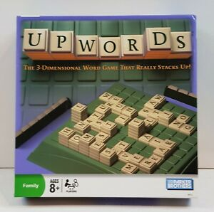 Upwords 3Dimensional Word Game by Parker Brothers Pre-owned