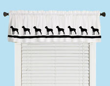 Cane Corso Dog Window Valance or Shower Curtain Choice of colors