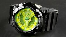 NEW WITH TAG CASIO G-SHOCK GA-100B-1A3 YELLOW/BLACK DIG-ANA X-LARGE SPORT WATCH