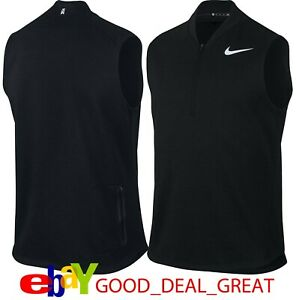 Tiger Woods TW Tech Pullover Sweater Vest 833268-010 *Nice Design*