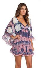 RARE Free People Boho Drape Marla Dreams Dress Size S Hippie Trendy