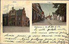 Stolzenau Niedersachsen Mittelweser 1902 Lange Straße Langestraße n/ Oldenburg