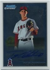 2010 Bowman Chrome BCP188 Tyler Chatwood Auto Cubs Angels