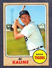 1968 Topps #240 Al Kaline -  Detroit Tigers  Ex/Mt