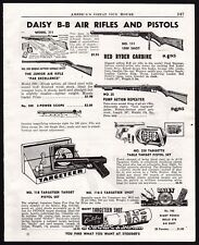 1951 DAISY BB Gun Air Rifle Pistol AD Model 100, 111 Red Ryder Carbine , 25 Pump