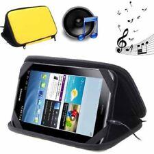 Tasche MultiFunktion tragbares Stereo Lautsprecher-System für Tablet PCs gelb