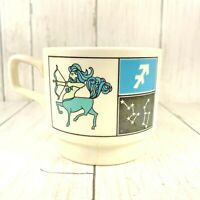 WESTINGHOUSE CREDIT CORP Coffee Mug Cup Made in USA Vtg Zodiac Personalized