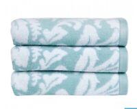 Christy Palermo Aqua Bath Sheet 90cm X 150cm