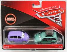 Modellini statici auto multicolore sul Disney