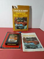 Canyon Bomber for Atari 2600 COMPLETE IN BOX FREE SHIPPING