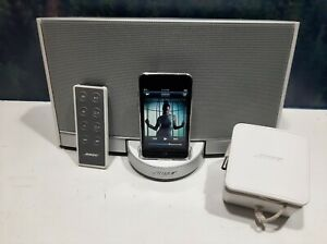 Bose SoundDock Portable Digital Wireless Chargeable Music System Bluetooth White