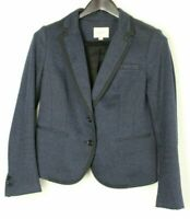 ANN TAYLOR LOFT Women's Suit Jacket Single-Breasted Two-Button Size Small