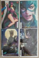 "Catwoman #12, 13, 14, 15 / ""Artgem"" Variant Covers / Year of the Villian / NM+"