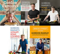 Gordon ramsay books collection ultimate fit fast food recipes home cooking pub