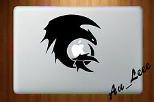 Macbook Air Pro Vinyl Skin Sticker Decal - Dragon Cartoon Movie  #MAC561