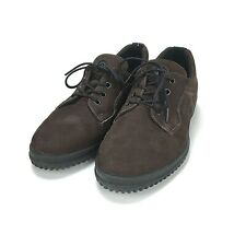 Ecco Soft Women's Brown Suede Lace up comfort shoe Size 7 M