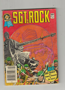 DC Special #18 Blue Ribbon Digest Sgt. Rock 1982 VG+