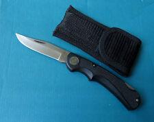 WESTERN USA Mighty Light Large Lockback Knife 546 - VINTAGE Valox Hunting Folder