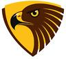 Sticker - Trading Card Sticker - AFL Hawthorn Hawks