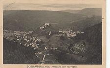 Schwarzburg /Thür.,Panorama v.Trippstein,gelauf.1913, gut erhalten, siehe Scan